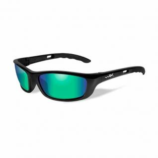 P-17 Polarized Emerald Green/Gloss Black Frame